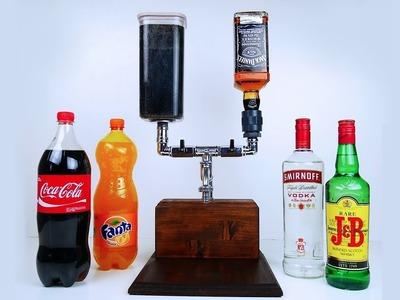 DIY HOME DECOR! #25 Easy Crafts Ideas - DIY Handmade Alcohol Mixer Dispenser