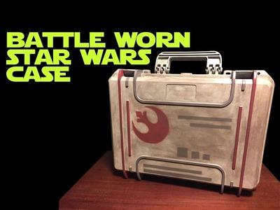 DIY Star Wars X-Wing Miniature Rebels Case - How I did It