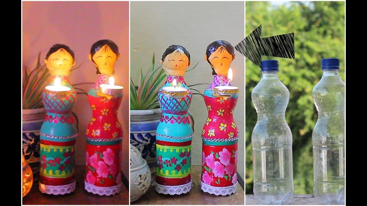 Christmas Crafts Using Plastic Bottles