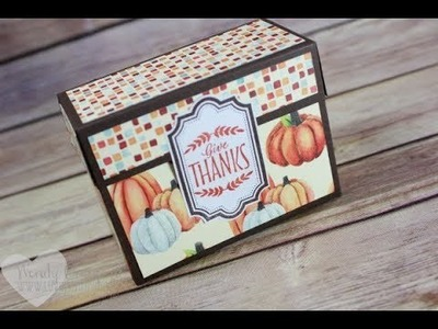 Easy Sticker Making and Fun Box Tutorial feat. Stampin' UP! Labels of Love