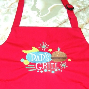 Embroidered Aprons For The Family