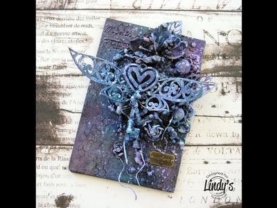 Explore - Mixed Media Canvas Tutorial for Lindy's Stamp Gang by Mary Catt