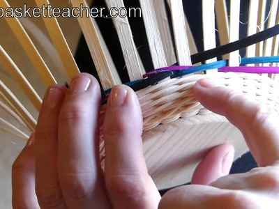 How to Braid Weave on a Basket
