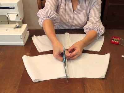 How to: Centered Zippers the Professional way