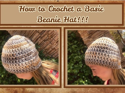 How to Crochet a Basic Hat