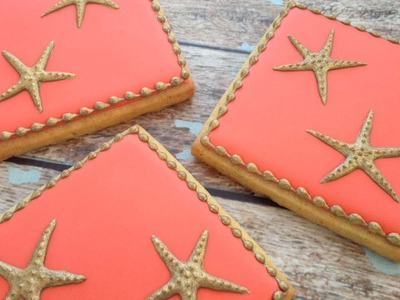 How To Decorate Starfish Cookies - GIVEAWAY with Tiffany Chou Jewelry {CLOSED}