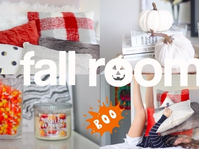 How to Decorate Your Room For Fall! + DIY Fall Room Decor