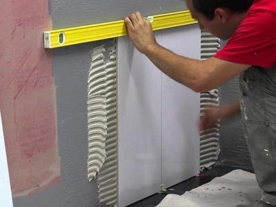 How to do residential bathroom Wall Tiling
