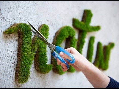 How to grow beautiful art out of moss