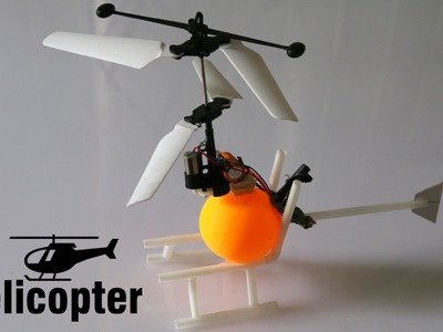 How to make a Helicopter that can fly - Electric Helicopter