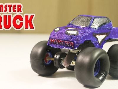 How To Make A Remote Control  Monster Truck