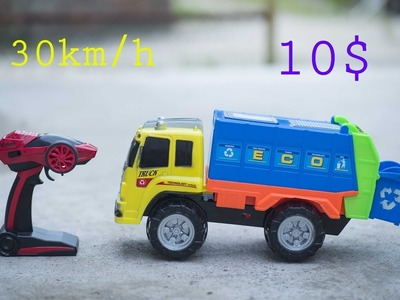 How to make Car remote control  with 30km. h with 10 $