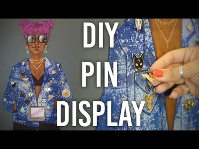How to Make Enamel Pin Board Display