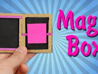 How To Make Magic Box From Cardboard!
