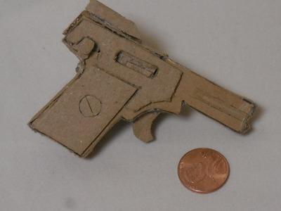 How to make my Cardboard 2.7mm Kolibri Pistol