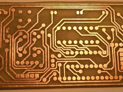 How to Make PCB using Laser Printer at Home