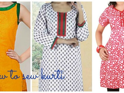 HOW TO STITCH KURTI (KAMEEZ) Part 2