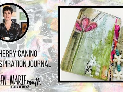 Mini Inspirational Journal - Sherry Canino for the Roben-Marie Design Team