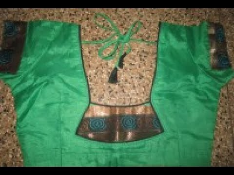 Tops youtube model tamil neck blouse video cutting homecoming