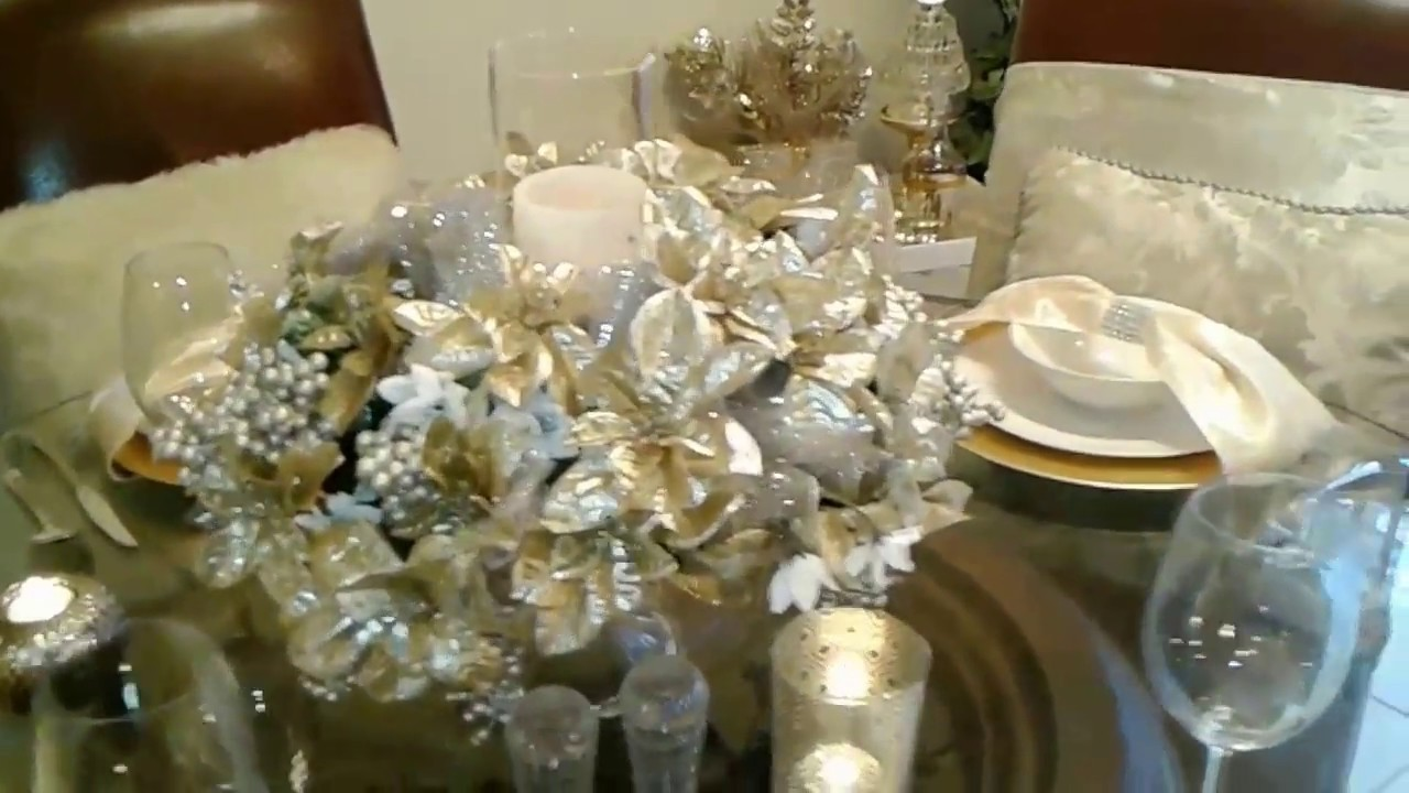 New! LUXE Dollar Tree Christmas(under $50)tablescape ...
