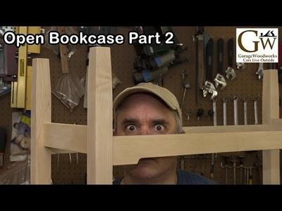Open Bookcase Part 2