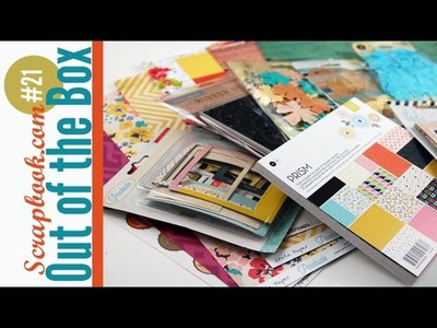 Out of the Box Scrapbooking Haul Video #21