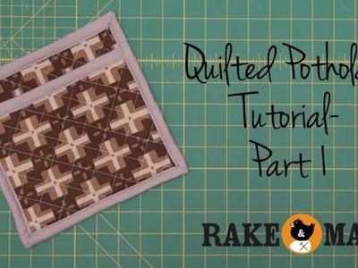 Potholder Tutorial Video  Part 1