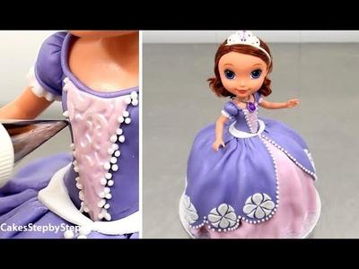 SOFIA Doll Cake by Cakes StepbyStep
