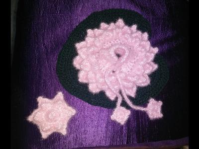 Thakur ji woolen lotus with leaf dress in hindi
