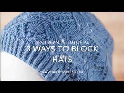3 Ways to Block Hats
