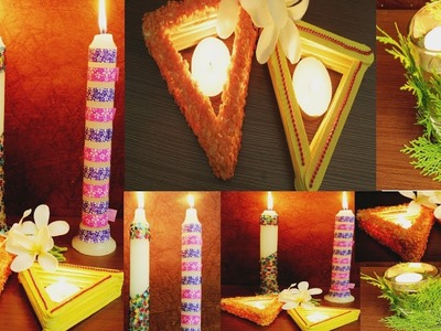 6 DIY: Diwali Decoration Ideas 2017. Easy & Quick | Room decoration ideas