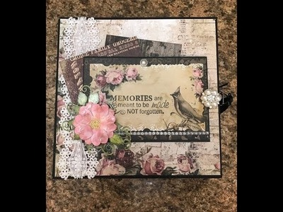 8 X 8 MINI ALBUM FOR SALE TIMELESS BY SHELLIE GEIGLE JS HOBBIES AND CRAFTS
