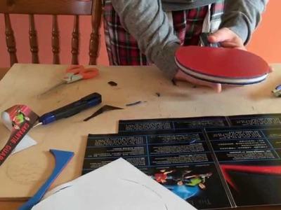 Assembling Your Own Table Tennis Bat [Tutorial]