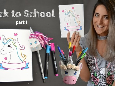 Back to school - DIY - Unicorn ???? !! Part 1 (RO)