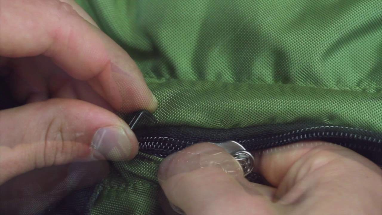BACKPACK ZIPPER REPAIR - How to fix a broken zipper on a backpack, luggage, purse or boots