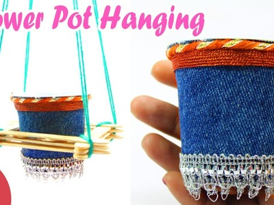 Ceiling Hangings from Popsicle Sticks & Ice Cream Cup | Sonali's Creations #78
