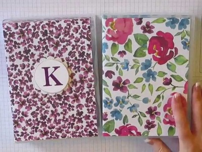 Covered Notepad with Case and Pen