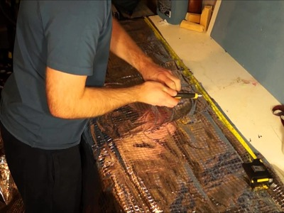 DIY Foam Pad for half under quilt