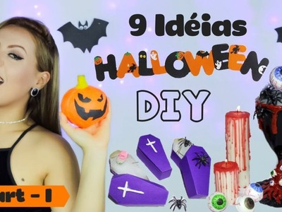 DIY HALLOWEEN. DECOR  - DECORATIONS - Party - Easy  - Ideas - 2017 (#1)