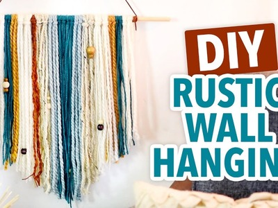 DIY Rustic Wall Hanging - HGTV Handmade