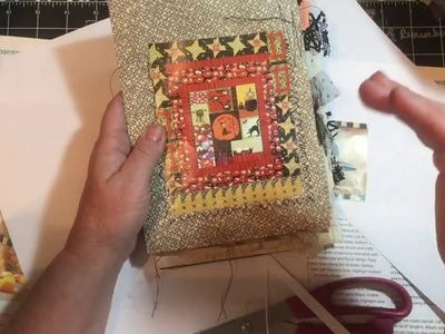Embellishments from Magazines & Books - How to at 5:25 | dearjuliejulie
