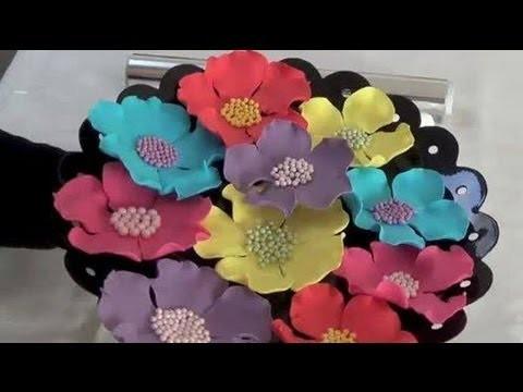 Fondant flower - How to