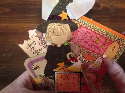 Halloween Stuffed Coffee Sleeve I made | dearjuliejulie