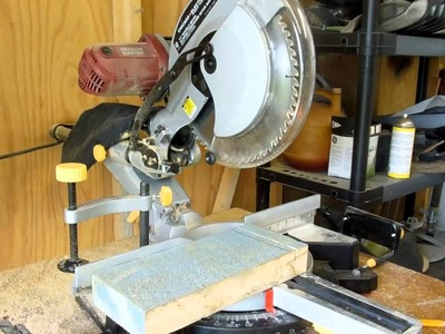 """Harbor Freight 12"""" Double-Bevel Sliding Compound Miter Saw Review"""