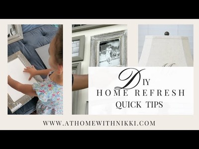 HOME DECOR: DIY Budget Friendly Home Refresh Tips with HP ENVY Photo Printer
