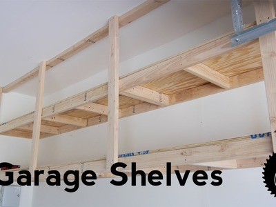 How to Build Garage Shelves | The Best Way!!