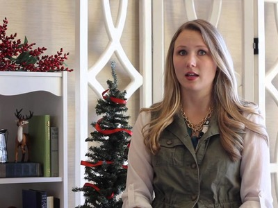 How to Hang Christmas Stockings Without Stocking Hangers : Christmas Decorating Help