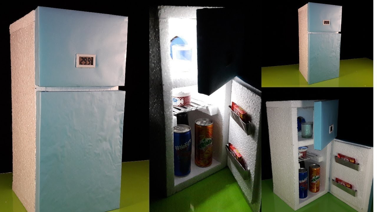 How To Make a Mini 12V Refrigerator At Home(Low Cost)