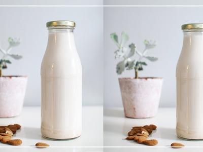 How to Make Almond Milk | Zero Waste