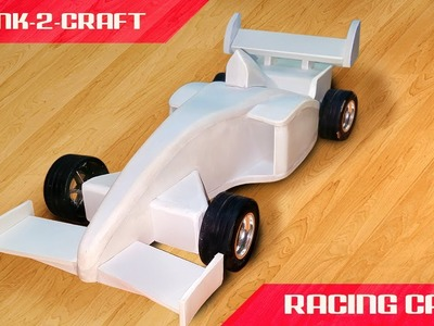 How to make Amazing RC F1 Racing Car using sunborad |Formula1 Battery Powered Car